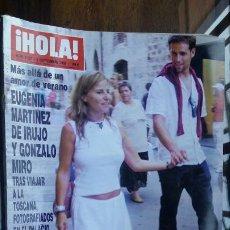 Coleccionismo de Revista Hola: REVISTA HOLA Nº 3187 AÑO 2005. EUGENIA MARTINEZ Y GONZALO MIRO. JOSE CAMPOS Y BORIDIU. ESTHER ARROYO. Lote 194862208