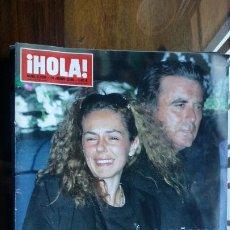 Coleccionismo de Revista Hola: HOLA Nº 3228 ÚLTIMO ADIÓS A ROCÍO JURADO. Lote 194862853