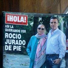 Coleccionismo de Revista Hola: HOLA 3223 ROCIO JURADO DE PIE. Lote 194862962