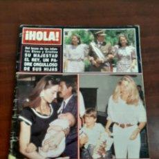 Coleccionismo de Revista Hola: REVISTA HOLA Nº 2346 - AÑO 1989- ISABEL PREYSLER- MARTA CHAVARRI- ANDRES PAJARES. Lote 194936618