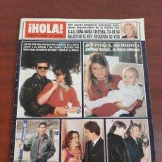 Coleccionismo de Revista Hola: REVISTA HOLA Nº 2476 - AÑO 1992- ANA OBREGON- IRENE VILLA- ALEJANDRO VILADE. Lote 194936986