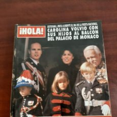 Coleccionismo de Revista Hola: REVISTA HOLA Nº 2521 - AÑO 1992- SOFIA LOREN - CAROLINA MONACO. Lote 194937601