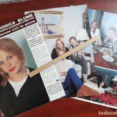 Coleccionismo de Revista Hola: VERONICA BLUME - ENTREVISTA -RECORTE 5 PAG.- REVISTA HOLA 1984 - VER DETALLES. Lote 195039193
