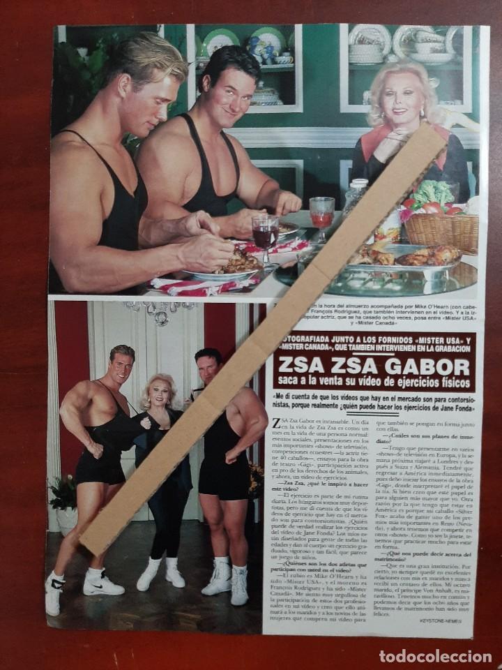 ZSA ZSA GABOR - ENTREVISTA - RECORTE 1 PAG.- REVISTA HOLA 1984 - VER DETALLES (Coleccionismo - Revistas y Periódicos Modernos (a partir de 1.940) - Revista Hola)