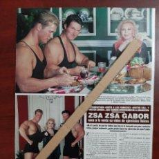 Coleccionismo de Revista Hola: ZSA ZSA GABOR - ENTREVISTA - RECORTE 1 PAG.- REVISTA HOLA 1984 - VER DETALLES. Lote 195039467
