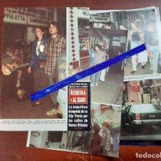 Coleccionismo de Revista Hola: ROMINA Y ALBANO EN BUSCA HIJA YLENIA - RECORTE 5 PAG.- REVISTA HOLA 1984 - VER DETALLES. Lote 195041253