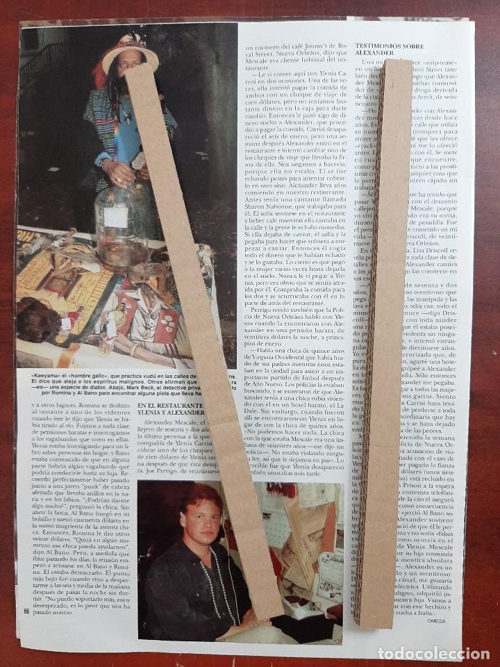 Coleccionismo de Revista Hola: ROMINA Y ALBANO EN BUSCA HIJA YLENIA - RECORTE 5 PAG.- REVISTA HOLA 1984 - VER DETALLES - Foto 4 - 195041253