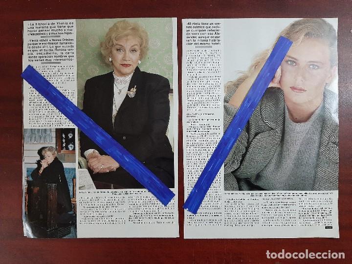 Coleccionismo de Revista Hola: LINDA CHRISTIAN ABUELA YLENIA HIJA DE ROMINA Y ALBANO-ENTREVISTA- RECORTE 6 PAG.- REVISTA HOLA 1984 - Foto 3 - 195041946