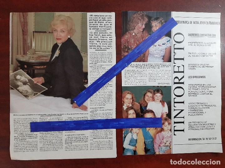 Coleccionismo de Revista Hola: LINDA CHRISTIAN ABUELA YLENIA HIJA DE ROMINA Y ALBANO-ENTREVISTA- RECORTE 6 PAG.- REVISTA HOLA 1984 - Foto 4 - 195041946