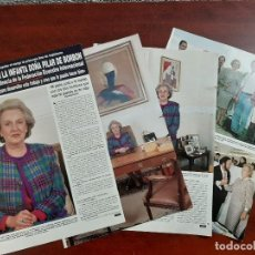 Coleccionismo de Revista Hola: PILAR DE BORBON - ENTREVISTA - RECORTE 6 PAG.- REVISTA HOLA 1984 . Lote 195042363
