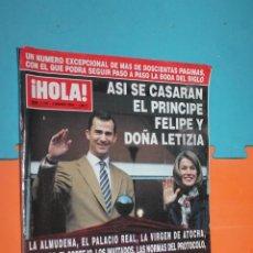 Coleccionismo de Revista Hola: REVISTA HOLA, Nº 3109, 4 MARZO 2004, . Lote 195494563