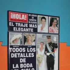 Coleccionismo de Revista Hola: REVISTA HOLA, Nº 3123, 10 JUNIO 2004, . Lote 195494917