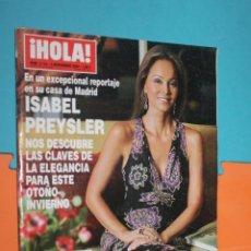 Coleccionismo de Revista Hola: REVISTA HOLA, Nº 3144, 4 NOVIEMBRE 2004, . Lote 195495015