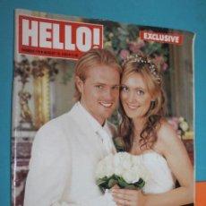 Coleccionismo de Revista Hola: REVISTA HELLO!, Nº 778, AUGUST 19 2003, NICKY BYRNE, GERGINA AHERN. Lote 195495526