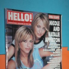 Coleccionismo de Revista Hola: REVISTA HELLO!, Nº733, OCTOBER 1, 2002, NICOLE AND NATALIE APPLETON,. Lote 195495736