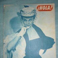 Coleccionismo de Revista Hola: Nº 408 REVISTA HOLA. 21 DE JUNIO 1952 5 PTAS.. Lote 195602908