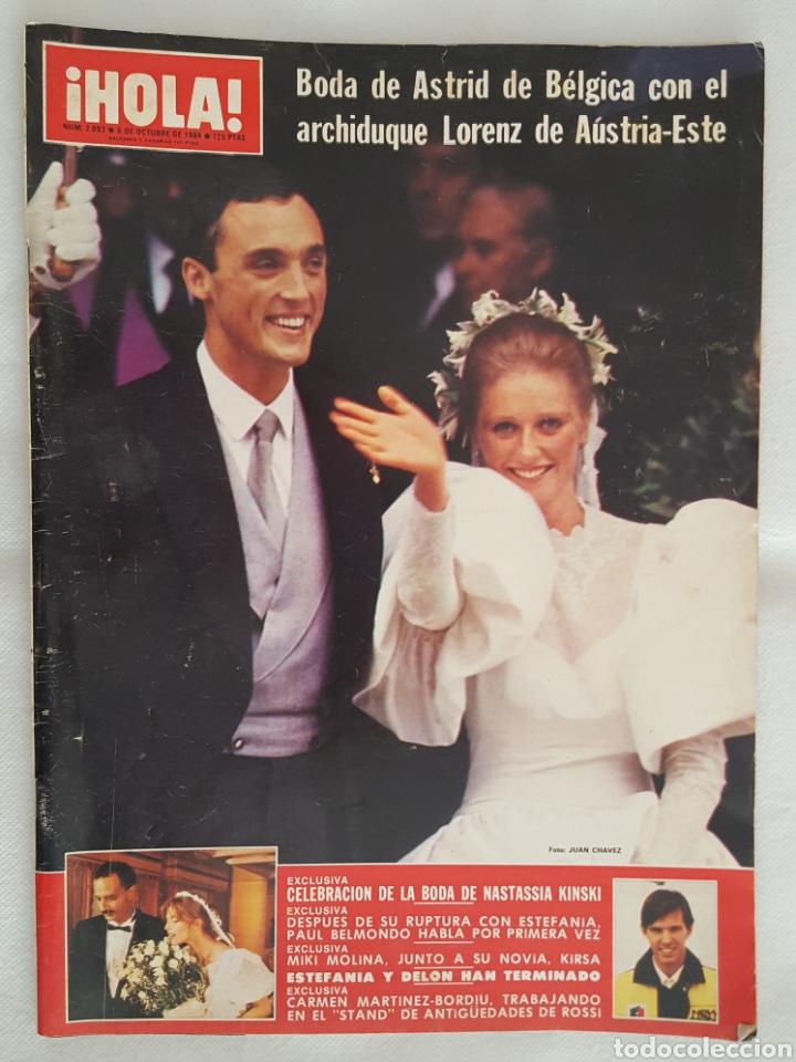 REVISTA / HOLA N° 2093 (6 OCTUBRE 1984) (Coleccionismo - Revistas y Periódicos Modernos (a partir de 1.940) - Revista Hola)