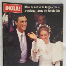 Coleccionismo de Revista Hola: REVISTA / HOLA N° 2093 (6 OCTUBRE 1984). Lote 195634860