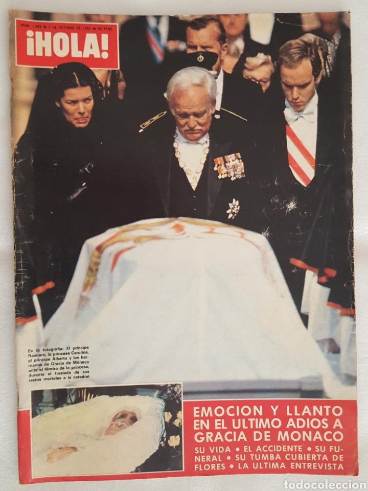 REVISTA / HOLA N° 1988 (2 OCTUBRE 1982) (Coleccionismo - Revistas y Periódicos Modernos (a partir de 1.940) - Revista Hola)