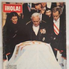 Coleccionismo de Revista Hola: REVISTA / HOLA N° 1988 (2 OCTUBRE 1982). Lote 195635412