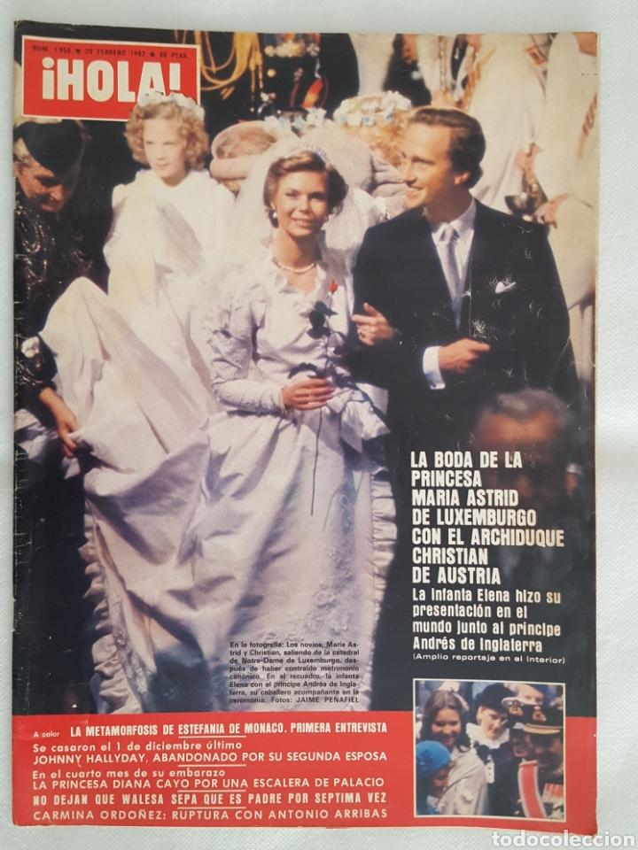 REVISTA / HOLA N° 1956 (20 FEBRERO 1982) (Coleccionismo - Revistas y Periódicos Modernos (a partir de 1.940) - Revista Hola)