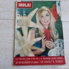 Coleccionismo de Revista Hola: HOLA 1114 AÑO 1966, ROMY SCHNEIDER, B.B.,GRACIA DE MONACO,BETSY BELL ETC... Lote 195740705