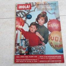 Coleccionismo de Revista Hola: HOLA 1113, AÑO 1965,GINA LOLLOBRIGIDA,PRINCIPE DE GALES ETC... Lote 195741768