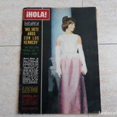 Coleccionismo de Revista Hola: HOLA 1.111, AÑO 1965,KENNEDY,HENRY FONDA,EXTRA 104 PÁGINAS.. Lote 195742133