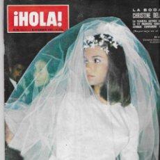 Coleccionismo de Revista Hola: REVISTA HOLA, 11 NOVIEMBRE 1967, Nº 1211, CRISTINE DELAROCHE,SOFIA LOREN, JACKY KENNEDY. Lote 196243080