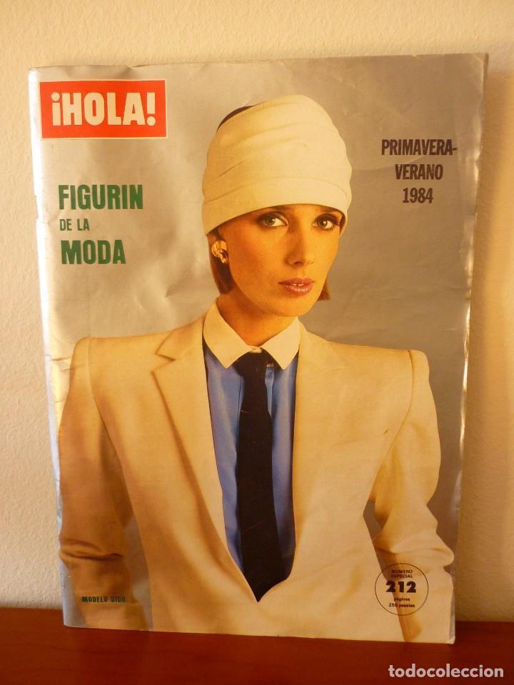REVISTA HOLA ESPECIAL PRIMAVERA VERANO 1984 (Coleccionismo - Revistas y Periódicos Modernos (a partir de 1.940) - Revista Hola)