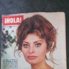 Coleccionismo de Revista Hola: SOFIA LOREN-GRACE KELLY-ROSANNA SCHIAFFINO-CÁDIZ-PAUL ANKA-MEDIAS. Lote 196972603