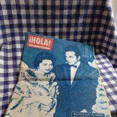 Coleccionismo de Revista Hola: REVISTA HOLA ,N 793 NOVIEMBRE 1959 ,SORAYA Y ORSINI. Lote 197207445