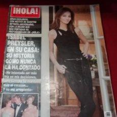 Coleccionismo de Revista Hola: HOLA Nº 3636 - 9 ABRIL 2014 -. Lote 199862890