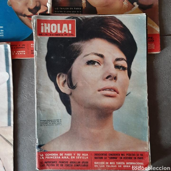 Coleccionismo de Revista Hola: LOTE DE 6 REVISTAS HOLA 1965 EL SANTO * LIZ TAYLOR * KIM NOVAK * SORAYA * FARAH - Foto 3 - 202361593