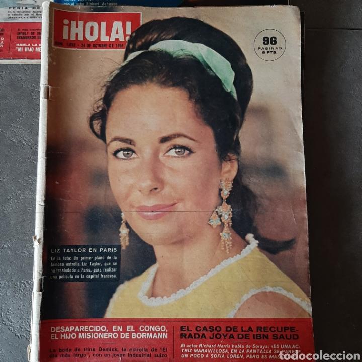 Coleccionismo de Revista Hola: LOTE DE 6 REVISTAS HOLA 1965 EL SANTO * LIZ TAYLOR * KIM NOVAK * SORAYA * FARAH - Foto 5 - 202361593