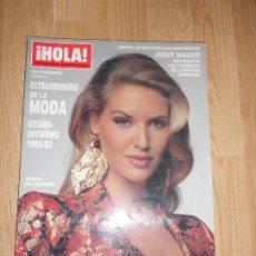 Coleccionismo de Revista Hola: HOLA NUMERO ESPECIAL EXTRAORDINARIO DE LA MODA OTOÑO-INVIERNO 1992-93 - JUDIT MASCO. Lote 218308067