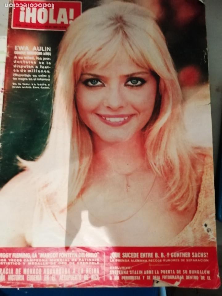 ANTIGUA REVISTA HOLA 1226 24 FEBRERO 1968 EWA HAULIN (Coleccionismo - Revistas y Periódicos Modernos (a partir de 1.940) - Revista Hola)