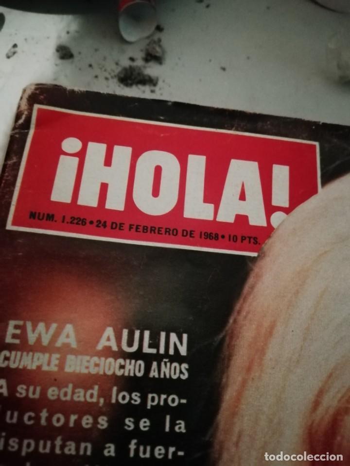 Coleccionismo de Revista Hola: Antigua Revista Hola 1226 24 Febrero 1968 Ewa Haulin - Foto 2 - 204333248