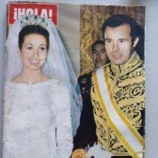 Coleccionismo de Revista Hola: REVISTA HOLA NUM 1437.11 MARZO 1972. BODA CARMEN MARTINEZ BORDIU. Lote 204681606