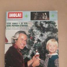 Coleccionismo de Revista Hola: HOLA N° 1948. ESPECIAL NAVIDAD. AÑO 1981. 192 PÁGINAS. Lote 205041206
