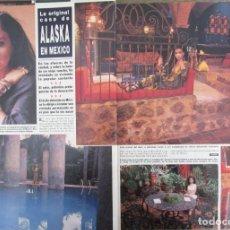 Collezionismo di Rivista Hola: RECORTE REVISTA HOLA Nº 2242 1987 ALASKA 4 PGS. Lote 205261555