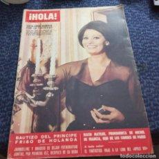 Coleccionismo de Revista Hola: VIAJE A LA LUNA APOLLO VIII SOFIA LOREN MADRE B.B. BARBARA WATSON HOLA Nº 1272 1969. Lote 205651521