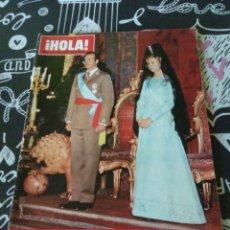 Coleccionismo de Revista Hola: REVISTA ¡HOLA! NUMERO 1632. 6 DE DICIEMBRE DE 1975. HOMENAJE A LOS REYES DE ESPAÑA. Lote 206390043