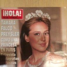 Coleccionismo de Revista Hola: REVISTA HOLA , NÚMERO 3296. Lote 206402380