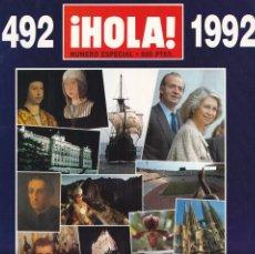 Coleccionismo de Revista Hola: ¡HOLA! - NUMERO ESPECIAL - 1492 / 1992. Lote 206425000