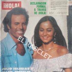 Coleccionismo de Revista Hola: ANTIGÚA REVISTA HOLA - Nº 1769 - AÑO 1978. Lote 206797205