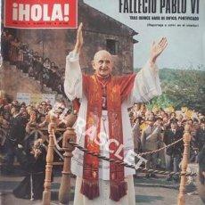 Coleccionismo de Revista Hola: ANTIGÚA REVISTA HOLA - Nº 1773 - AÑO 1978. Lote 206797700