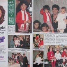 Coleccionismo de Revista Hola: RECORTE REVISTA HOLA Nº 2066 1984 BÁRBARA REY Y ANGEL CRISTO. Lote 207071762