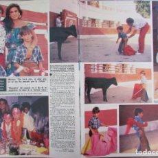 Coleccionismo de Revista Hola: RECORTE REVISTA HOLA Nº 2141 1985 PALOMO LINARES, MARINA DANKO. Lote 207077036