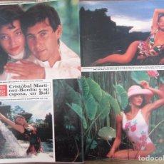 Coleccionismo de Revista Hola: RECORTE REVISTA HOLA Nº 2141 1985 MARIA JOSE TOLEDO 4 PGS. DUQUES DE ALBA 3 PGS. Lote 207077317